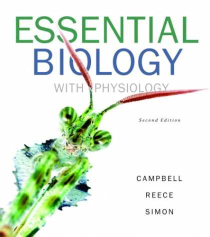Bestsellers (2007) - Essential Biology with Physiology (2nd Edition) (Campbell Biology Websites Serie