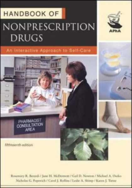 Bestsellers (2007) - Handbook of Nonprescription Drugs by Rosemary R. Berardi