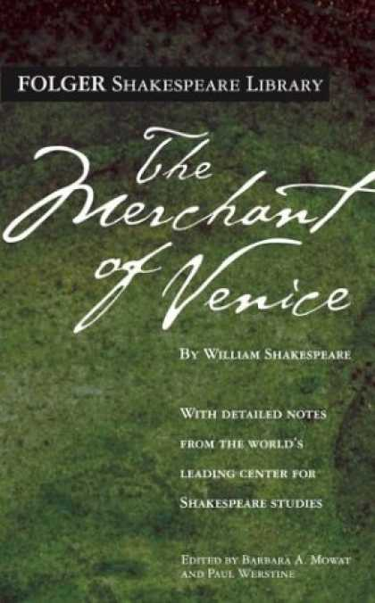 Bestsellers (2007) - The Merchant of Venice (Folger Shakespeare Library) by William Shakespeare