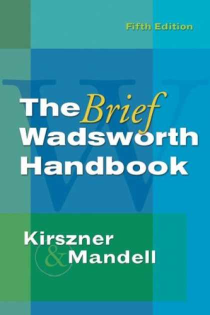 Bestsellers (2007) - The Brief Wadsworth Handbook by Laurie G. Kirszner