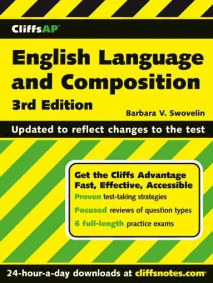 Bestsellers (2007) - CliffsAP English Language and Composition (Cliffs AP) by Barbara V. Swovelin