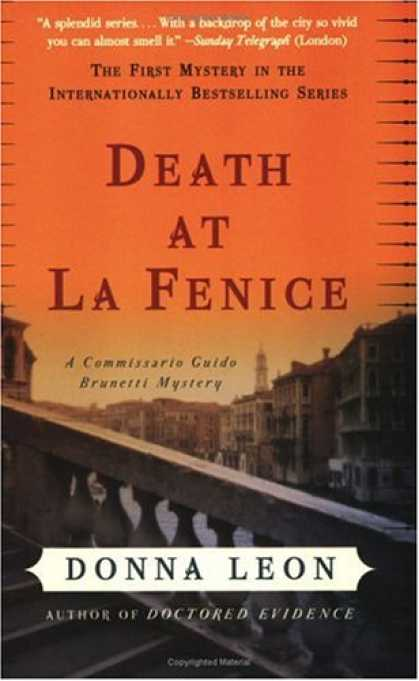 Bestsellers (2007) - Death at La Fenice: A Commissario Guido Brunetti Mystery by Donna Leon