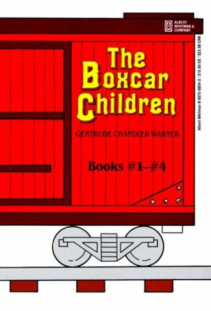Bestsellers (2007) - The Boxcar Children Books 1-4 by Gertrude Chandler Warner