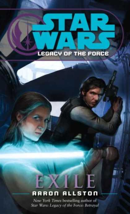 Bestsellers (2007) - Exile (Star Wars: Legacy of the Force, Book 4) by Aaron Allston