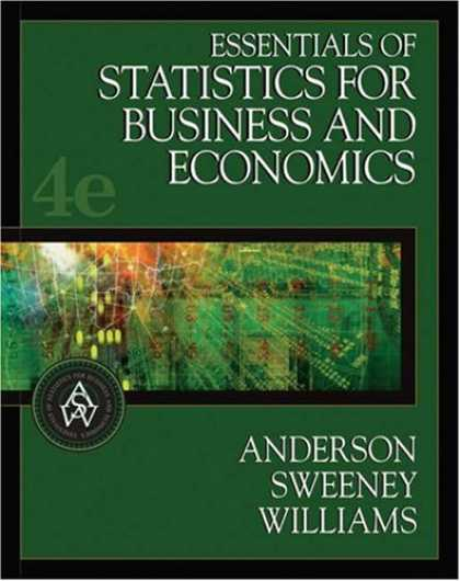 Bestsellers (2007) - Essentials of Statistics for Business and Economics (with CD-ROM and InfoTrac )