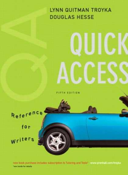 Bestsellers (2007) - Quick Access, Reference for Writers (MyCompLab Series) by Lynn Q. Troyka
