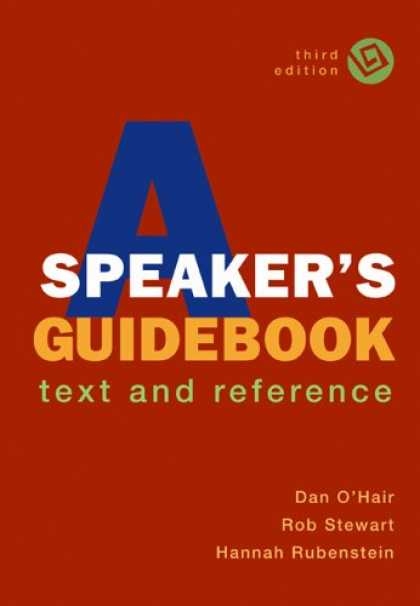 Bestsellers (2007) - A Speaker's Guidebook: Text and Reference by Dan O'Hair