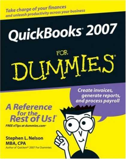 Bestsellers (2007) - QuickBooks 2007 For Dummies (For Dummies (Computer/Tech)) by Stephen L. Nelson