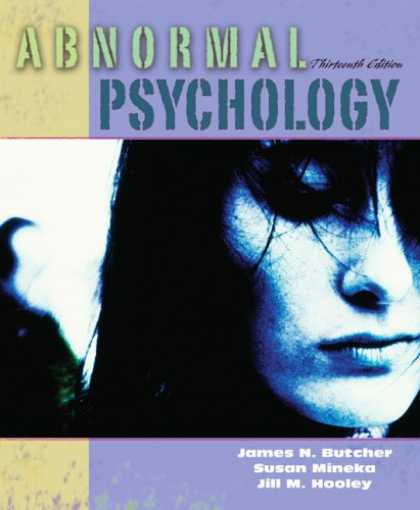 Bestsellers (2007) - Abnormal Psychology (13th Edition) (MyPsychLab Series) by James N. Butcher