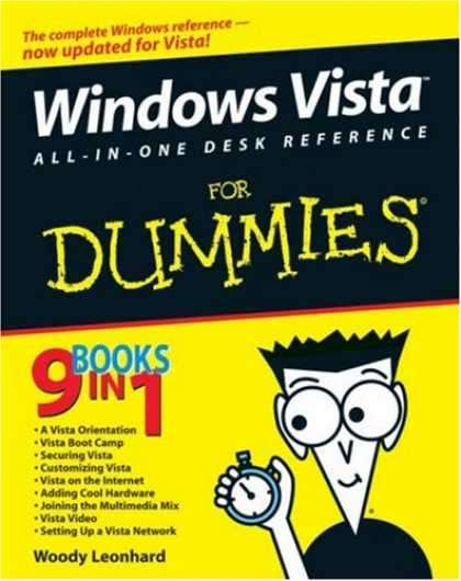 Bestsellers (2007) - Windows Vista All-in-One Desk Reference For Dummies (For Dummies (Computer/Tech)