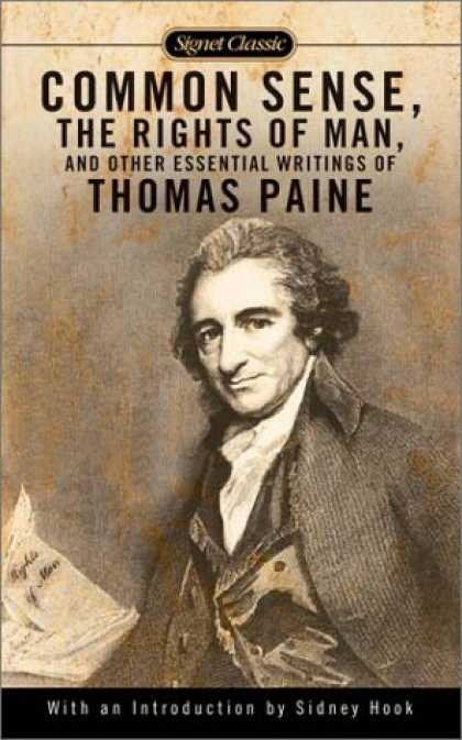 Bestsellers (2007) - Common Sense, The Rights of Man and Other Essential Writings of Thomas Paine (Si