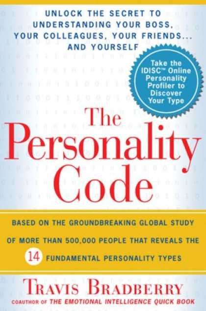 Bestsellers (2007) - The Personality Code by Travis Bradberry