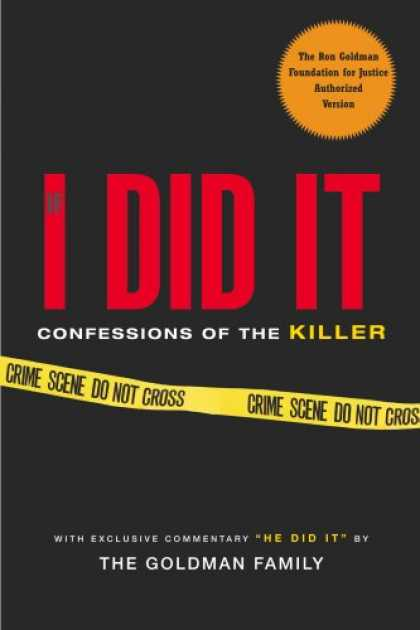 Bestsellers (2007) - If I Did It: Confessions of the Killer by Goldman Family