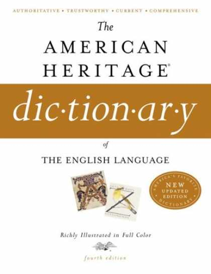 Bestsellers (2007) - The American Heritage Dictionary of the English Language, Fourth Edition