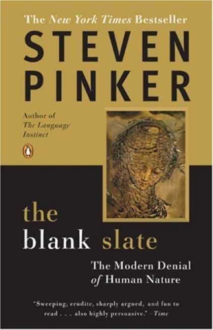 Bestsellers (2007) - The Blank Slate: The Modern Denial of Human Nature by Steven Pinker