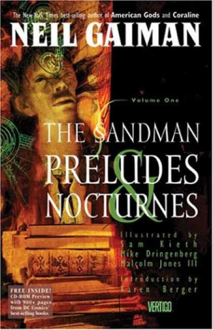 Bestsellers (2007) - The Sandman Vol. 1: Preludes and Nocturnes by Neil Gaiman