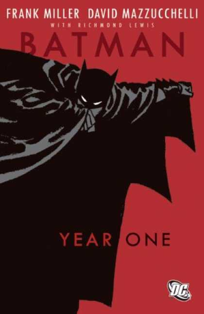 Bestsellers (2007) - Batman: Year One by Frank Miller