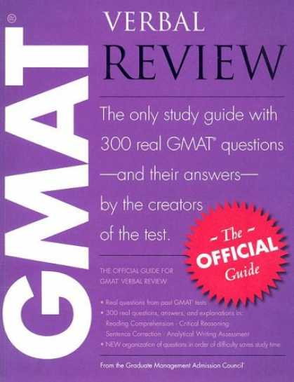 Bestsellers (2007) - The Official Guide for GMAT Verbal Review