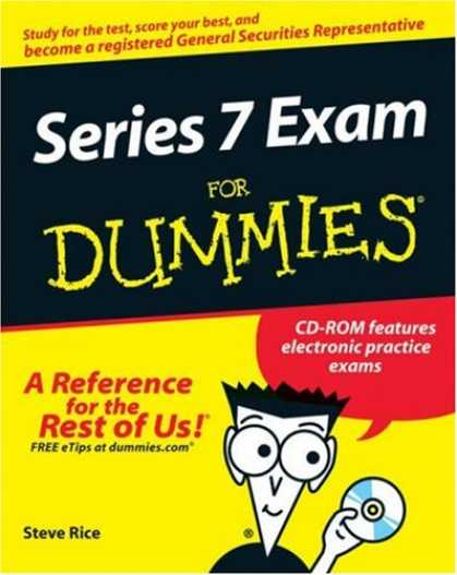 Bestsellers (2007) - Series 7 Exam For Dummies (For Dummies (Career/Education)) by Steven M. Rice