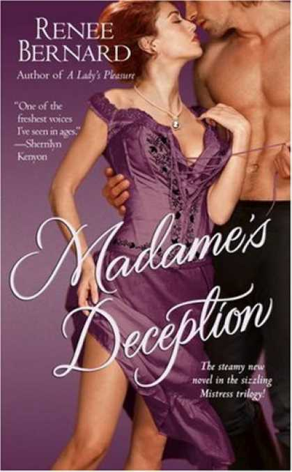Bestsellers (2007) - Madame's Deception by Renee Bernard