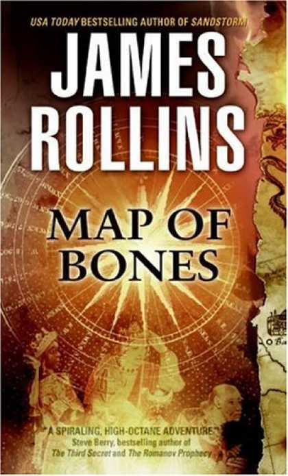 Bestsellers (2007) - Map of Bones by James Rollins
