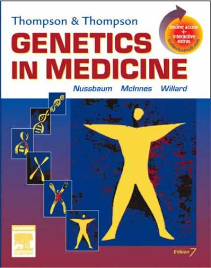 Bestsellers (2007) - Thompson & Thompson Genetics in Medicine: With STUDENT CONSULT Online Access by