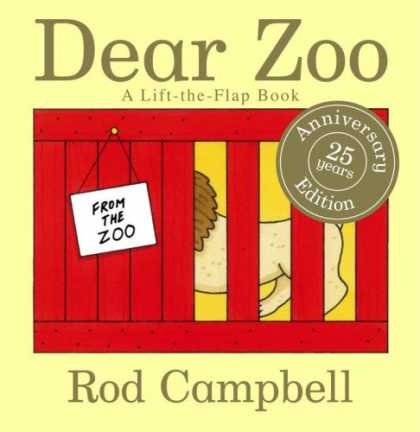 Bestsellers (2007) - Dear Zoo: A Lift-the-Flap Book