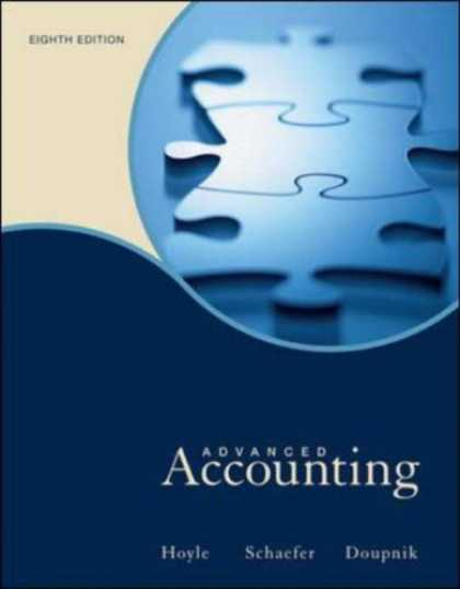 Bestsellers (2007) - Advanced Accounting by Joe Ben Hoyle