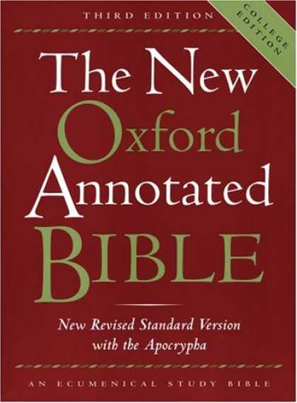 Bestsellers (2007) - The New Oxford Annotated Bible with the Apocrypha, Third Edition, New Revised St