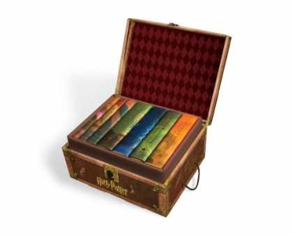 Bestsellers (2007) - Harry Potter Boxset Books 1-7 by J. K. Rowling