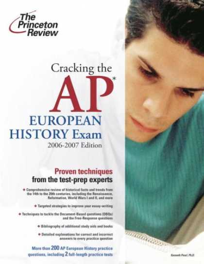 Bestsellers (2007) - Cracking the AP European History Exam, 2006-2007 Edition (College Test Prep) by