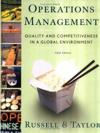 Bestsellers (2007) - Operations Management: Quality and Competitiveness in a Global Environment by Ro