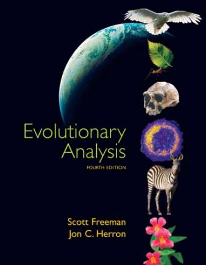 Bestsellers (2007) - Evolutionary Analysis (4th Edition) by Scott Freeman