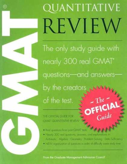 Bestsellers (2007) - The Official Guide for GMAT Quantitative Review
