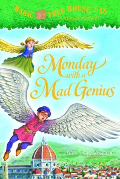 Bestsellers (2007) - Monday with a Mad Genius (A Stepping Stone Book(TM)) by Mary Pope Osborne