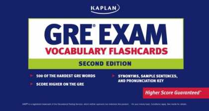 Bestsellers (2007) - GRE Exam Vocabulary Flashcards by Kaplan