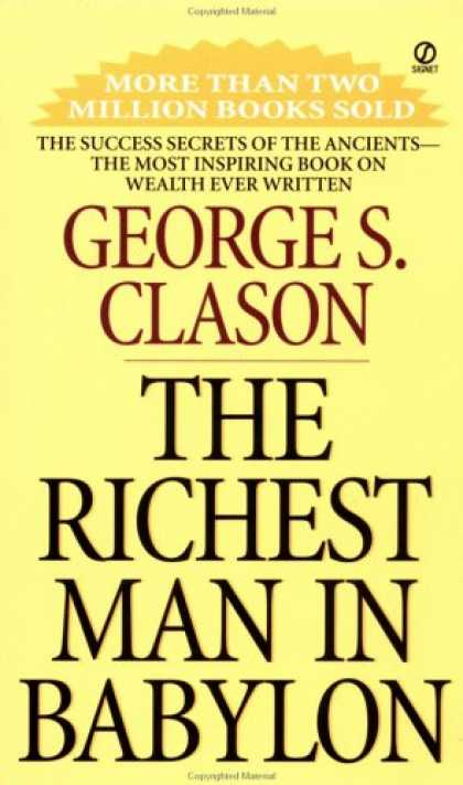 Bestsellers (2007) - The Richest Man in Babylon by George S. Clason