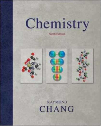 Bestsellers (2007) - Chemistry by Raymond Chang