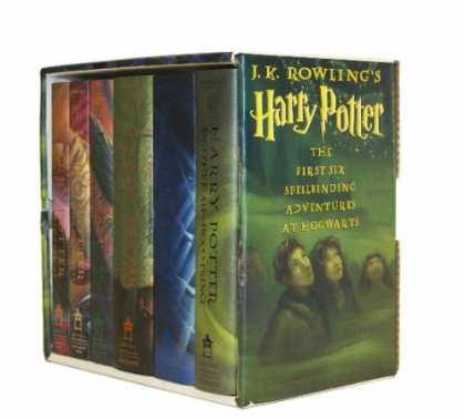 Bestsellers (2007) - Harry Potter Hardcover Box Set (Books 1-6) by J. K. Rowling