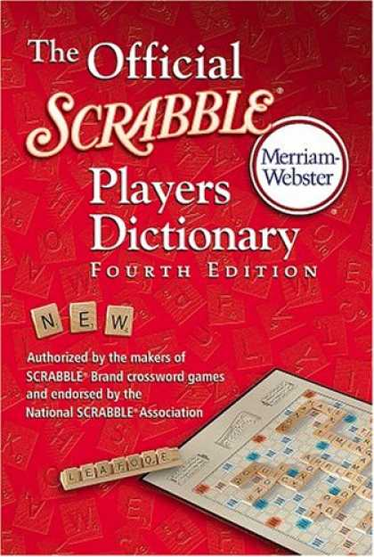 Bestsellers (2007) - The Official Scrabble Players Dictionary by Merriam-Webster