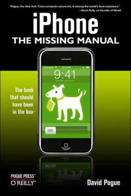 Bestsellers (2007) - iPhone: The Missing Manual by David Pogue