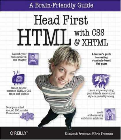 Bestsellers (2007) - Head First HTML with CSS & XHTML (Head First) by Eric Freeman