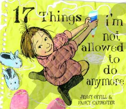 Bestsellers (2007) - 17 Things I'm Not Allowed to Do Anymore by Jenny Offill