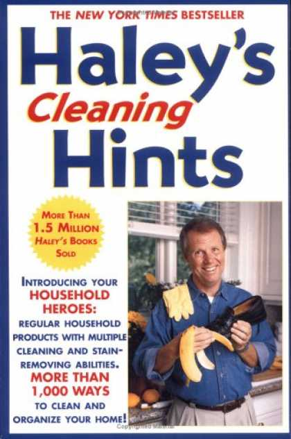 Bestsellers (2007) - Haley's Cleaning Hints by Graham Haley