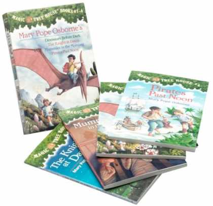 Bestsellers (2007) - Magic Tree House Boxed Set 1, Books 1-4: Dinosaurs Before Dark, The Knight at D