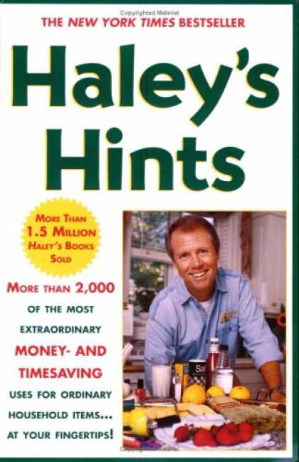 Bestsellers (2007) - Haley's Hints by Graham Haley