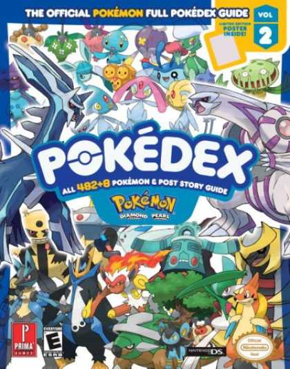 Bestsellers (2007) - Pokemon Diamond & Pearl Pokedex: Prima Official Game Guide Vol. 2 (Prima Officia