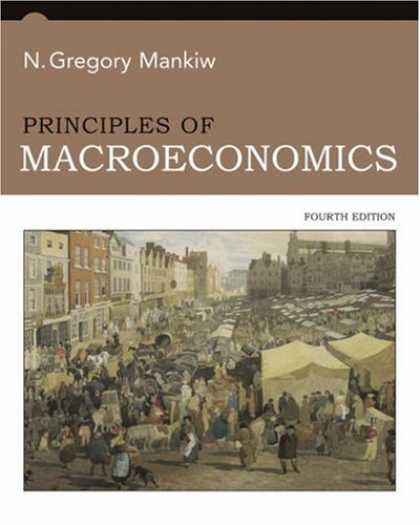 Bestsellers (2007) - Principles of Macroeconomics by N Gregory Mankiw