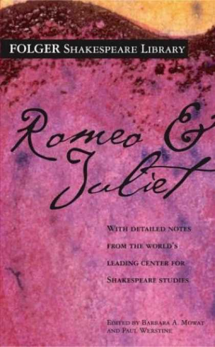 Bestsellers (2007) - Romeo and Juliet (Folger Shakespeare Library) by William Shakespeare