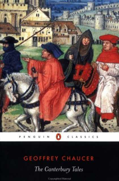 Bestsellers (2007) - The Canterbury Tales (Penguin Classics) by Geoffrey Chaucer
